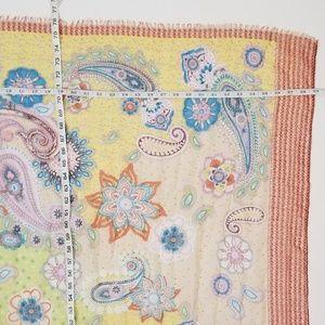 """Cejon Accessories - Cejon 74"""" Scarf Paisley Floral C8"""